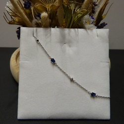 Bracelet argent et Oxydes de zirconium